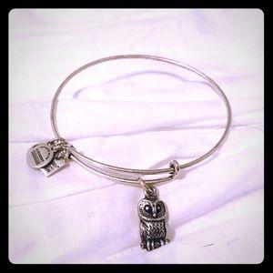Alex & Ani owl bracelet